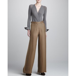 Donna Karan wide leg trousers