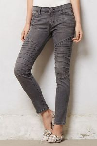 Anthropologie, moto jeans