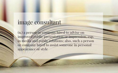 image consultant def books